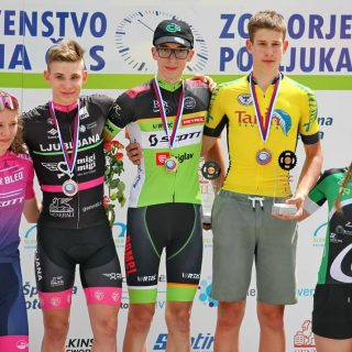 ITT U17 national champion Aljaž Petek 🥇 Foto: Peter Gregorčič #cyclingteamkranj #slovenianationals #slocycling #individualtimetrial