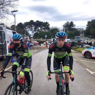 Before stage 1 of the Istrian Spring Trophy. @istrian.spring.trophies