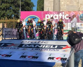 Giro della Friuli Venezia Giulia opening TTT ended with 22nd place for our team.