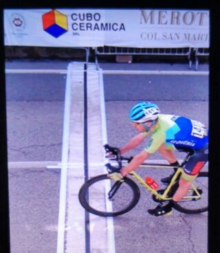 @nikcemazar displays a very good form, finishing 26th at #trofeopiva in Italy today.