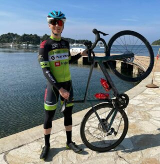Jaka Primozic takes solid 25th place in #GPPorec today. He displays a great form and is ready for next challenge at @istrian.spring.trophies next week 💪 #cycling #uci #ucieuropetour #trofejporec #istria #scottish #scott2luvit #gettingready