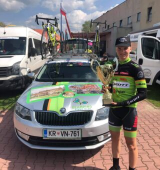 Third place for @primozicjaka at 2nd stage of Carpatian Couriers race 👏👏